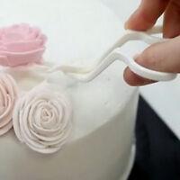 Plastic DIY Tool Flower Lifter Sugarcraft Scissor Fondant Cake Edge Decorating #
