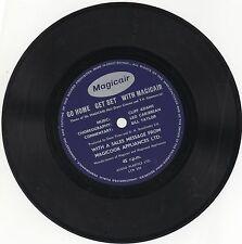 GO HOME GET SET WITH MAGICAIR 1960s RARE UK AUDIO PLASTICS LYTONE FLEXI LYN 293