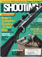 SHOOTING TIMES Magazine November 1988 Ruger's Synthetic/Stainless .22 Bolt Rifle