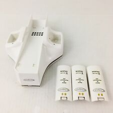 Nintendo Wii Intec G5614 Dual Charge Station and Turbo Cooler White