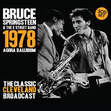 BRUCE SPRINGSTEEN 2019 UNRELEASED LIVE 1978 CLEVELAND CONCERT 3 CD BOXSET