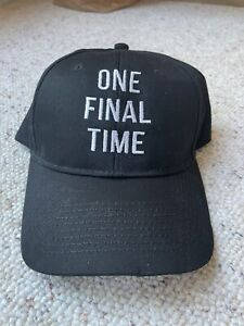 """Jimmy Johnson hat """"one final time"""""""