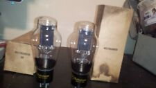 ***RARE Matched PAIR RCA (for Westinghouse) TYPE 50 TUBE 150/250/350 TV-7 Tested