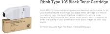 Ricoh 885375 AP3800C/CL7000 Type 105 Black Toner