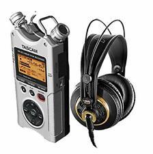DR 40 Silver 4-Track Portable Digital Recorder & K240