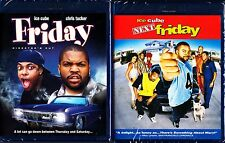 FRIDAY / NEXT FRIDAY (1995/2000) - DIRECTOR'S CUT ICE CUBE CHRIS TUCKER BLU RAYS