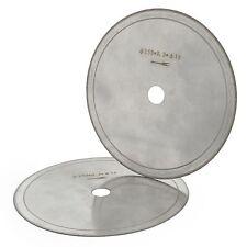 "2Pcs 6"" 150mm thin Gems Cutting Disc diamond lapidary saw blade 5/8"" Rim 0.43mm"