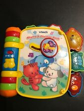 V-Tech Rhyme & Discover Book Kids/Toddler Musical Learning Developmental Toy
