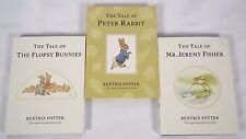 Set of 3 Beatrix Potter Hardcover Mini Books Peter Rabbit Flopsy Bunnies Jeremy