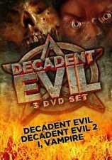 Decadent Evil: Decadent Evil / Decadent Evil 2 / I, Vampire (3-DVD)