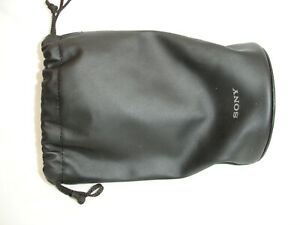 """SONY LENS Pouch Travel Soft Carry BAG Case CL - large size 8"""" x 4"""""""
