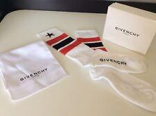 Givenchy NEW BNIB WHITE socks Size 39 -42 Stars Rrp £105