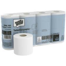 64x Toilettenpapier Klopapier 2lagig Natur Recycling Tissue 250 Blatt Kleinrolle