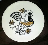 """Collectable~ Rooster Dessert Plate 6""""~ circa 1950/60 ~Royal China ~"""