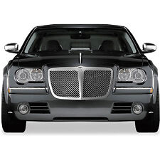 Chrysler 300/300C 2005-2010 Chrome ABS Mesh w/Bar Replacement Grille