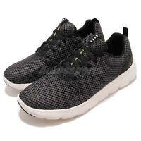 Skechers Marauder Black White Men Running Walking Casual Shoes Sneaker 52832-BKW