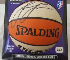 Lisa Leslie Autographed Wnba Basketball - Mint Condition