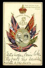 Royalty CORONATION Edward VII Tuck u/b Souvenir PPC 1902 Good Morrow