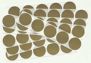 50 x 1 Inch Round Gold Scratch Off Stickers - Birthday, Wedding, Hen & Stag