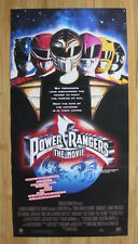 POWER RANGERS MOVIE 1995 Original Australian daybill movie poster rare helmet