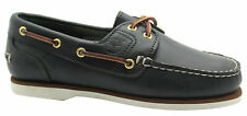 Timberland Classic 2 Eye Womens Navy Casual Summer Lo Top Boat Shoes Size UK 4 W