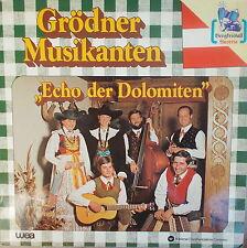LP Grödner Musikanten Echo der Dolomiten,MINT-,gewaschen,WEA Music Austria,rar