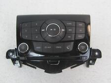 13-15 CHEVROLET CRUZE Stereo Control Panel Face Plate Black Eboyn CD MP3 UYE