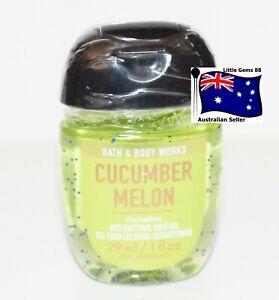 BATH & BODY WORKS Cucumber Melon 29ML POCKETBAC HAND GEL SANITIZER