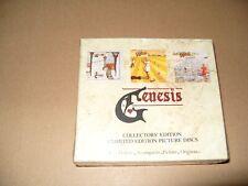 Genesis Trespass/Nursery Cryme/Foxtrot 3 CD SET LIMITED EDIT 1990 NEW & SEALED