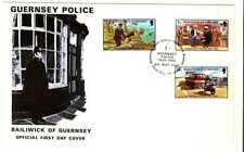 Guernsey 1980 Police First Day Cover