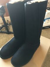 UGG®- WOMENS-Classic II  Tall -1016224 -Size 8 -100%Authentic-Black-New