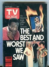 TV Guide Magazine June 29-July 5 1985 Bill Cosby VG No ML 101316jhe
