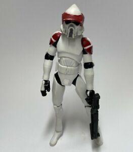 HASBRO Star Wars CLONE WARS ARF TROOPER Republic Scout Speeder LOOSE 2011