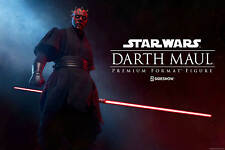 Sideshow Star Wars The Phantom Menance Darth Maul Premium Format Figure Statue
