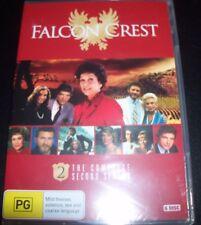 Falcon Crest The Complete Season Two 2 (Australia Region 4) 6 Disc DVD - NEW
