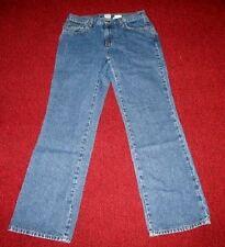 CALVIN KLEIN JEANS 5 Pocket Medium Blue Denim Jeans Misses Size 8 Bootcut