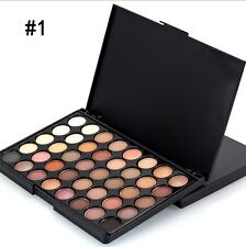 40 Colour Pop Eye Shadow Makeup Cosmetic Shimmer Matte Eyeshadow Palette Set NS