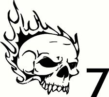 SKULL Decal Bumper Stickers for car truck wall laptop notebook glass #7