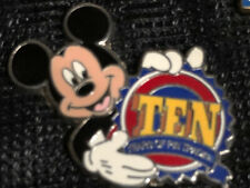 New listing Disney Pin 73015 Mickey Mouse 10th Anniversary Ten