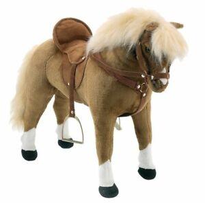 Happy People Pferd / Kinderpferd mit Sound ** Haflinger ** 58983