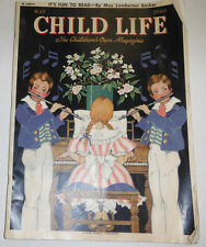 Child Life Magazine Redhead And The Yacht Club Kid May 1940 092014R