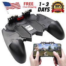 Mobile Controller Key AK66 Fire Button 6 Joystick Finger Gamepad Game PUBG Video