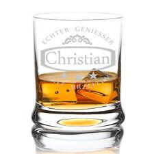 Leonardo Whiskyglas inkl. Gravur Ornament und Sterne