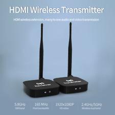WiFi Wireless HDMI Video Transmitter Receiver AV Sender 1080P Audio Home Office