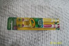 GUM Crayola Toothbrushes Soft 2 Value Pack #227 New!