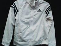 Adidas Girls Event Full Zip Athletic Jacket  Size 7/8
