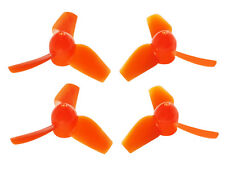 Microheli Blade Inductrix Orange 3-Blade 31mm/0.8mm CW/CCW Prop Set MH-3PP3108OR