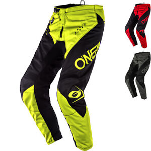 Oneal Élement Racewear 2020 Motocross Pantalon MX Pantalon Vélo Off Route O'Neal