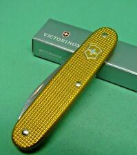 Victorinox 93mm Gold Alox Electrician / Apprentice Swiss Army Knife