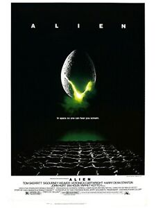 Alien- Poster (A0-A4) Film Movie Picture Art Wall Decor Actor
